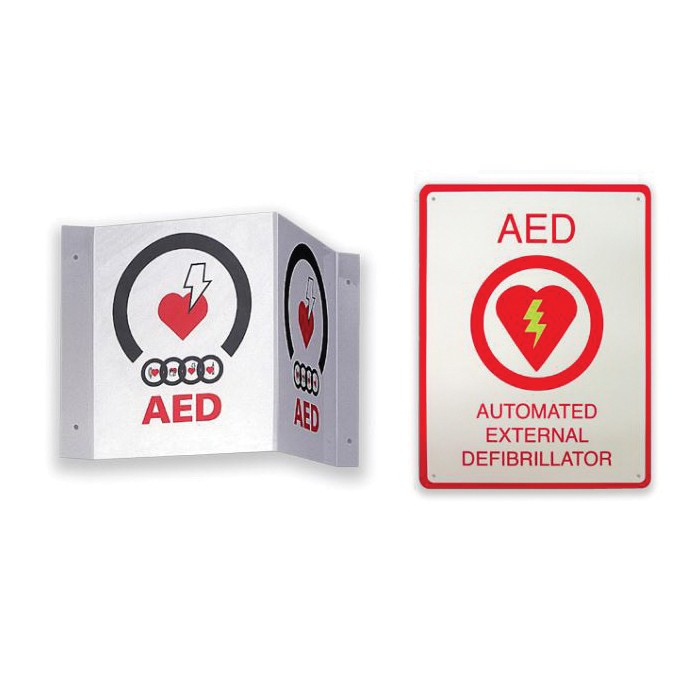 Zoll AED® Plus 8000-0825 Caution Sign