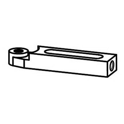 Dynabrade® 26830 Roller Guide Assembly, For Use With 51332 Straight-Line Rear Exhaust Vacuum Router