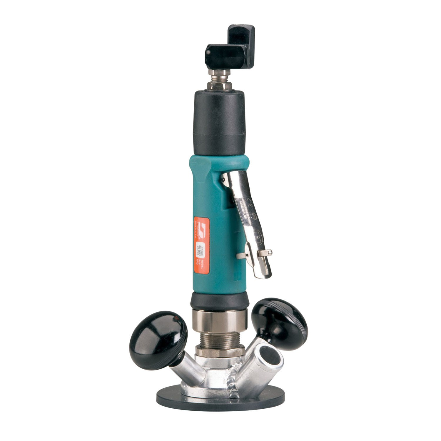 Dynabrade® 51333 Gearless Central Vacuum Router, 20000 rpm, 33 cfm, 90 psi (Bare Tool)
