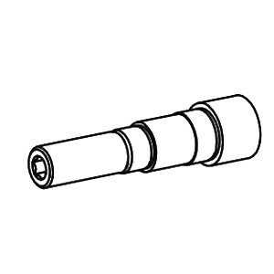 Dynabrade® 52968 Spindle Adapter, For Use With 52936 Pistol Grip Drill