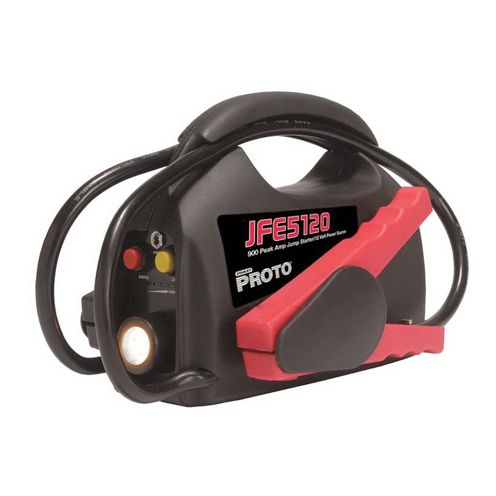 Proto® JFE5120 Light Weight Jump Starter, 7-1/2 in W x 27 in D, 12 V