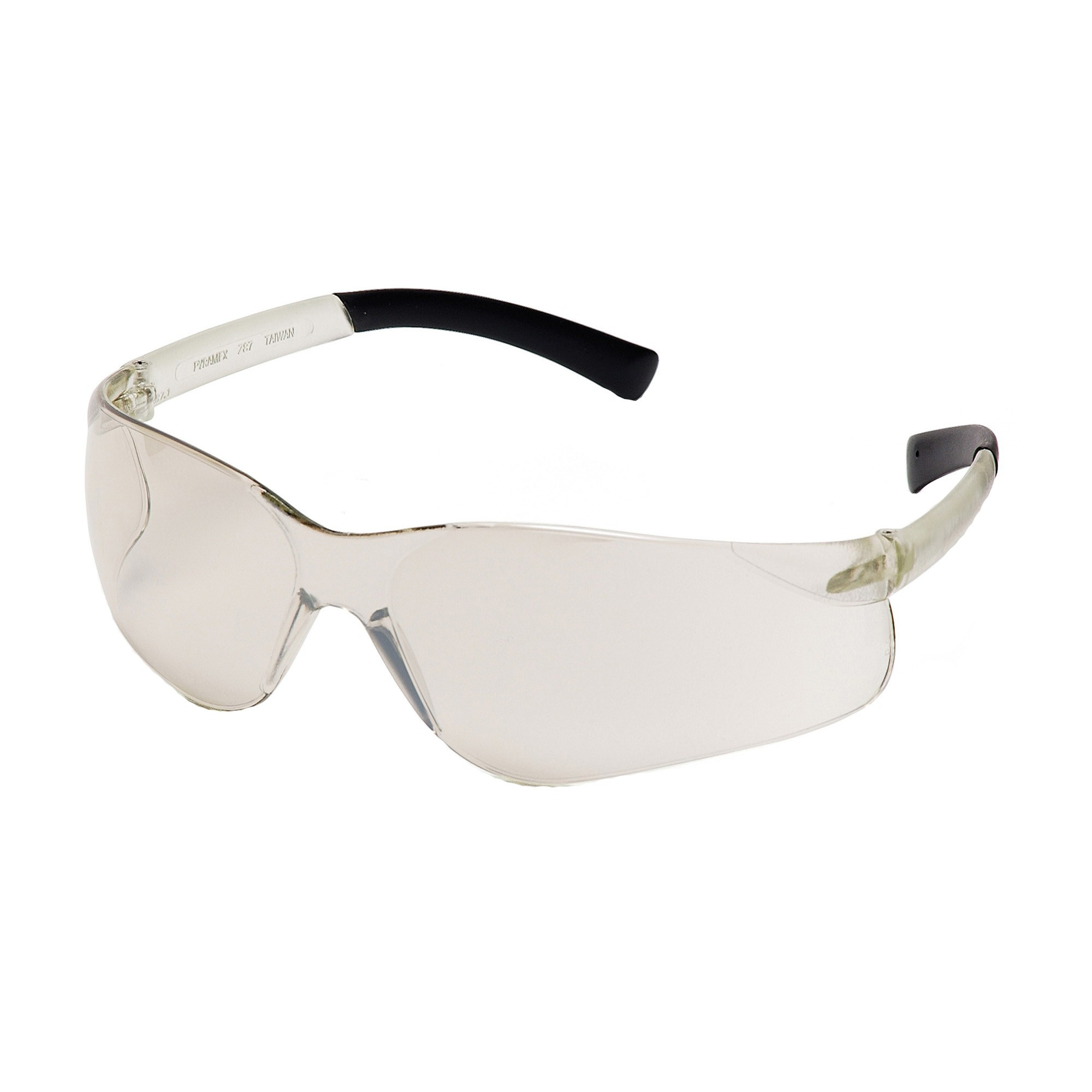 Pyramex® S2580S Light Weight Protective Glasses, Universal, Wraparound Matte Frame, Scratch-Resistant