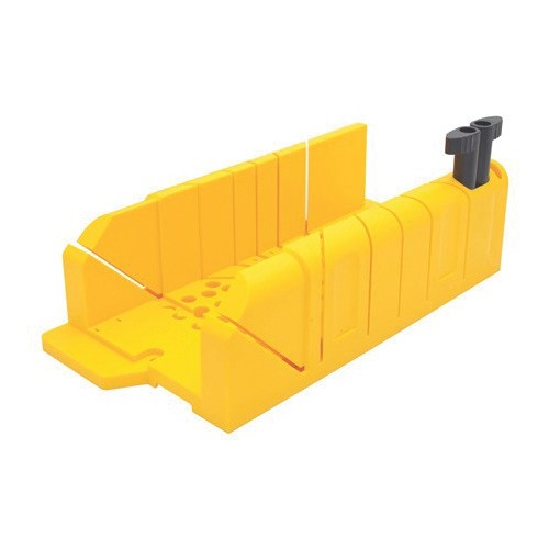 Stanley 20 112 Clamping Mitre Box 12 X 4 1 4 In Oal For Use With