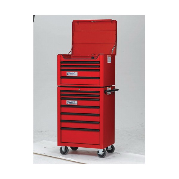 Williams® W26RC7 Professional Roll Cabinet, 37-7/8 in H x 26 in W x 19-13/16 in D, Steel