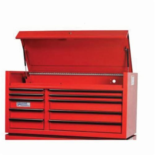 Williams® W55TC10B Professional Top Chest, 28-1/2 in H x 55 in W x 24 in D, Aluminum Handle/Steel Drawer