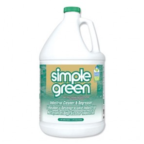 Simple Green® 13005CT All Purpose Industrial Cleaner and Degreaser, Concentrated, 1 Gal Bottle, 6/Case