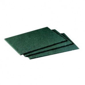 Scotch-Brite™ 96 General Purpose Scouring Pad, 9 in L x 6 in W, Synthetic, Green