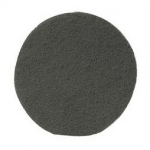 Hookit™, Scotch-Brite™ CF-HA Clean and Finish Disc, 6 in Dia, No Hole, Silicon Carbide Abrasive, Gray