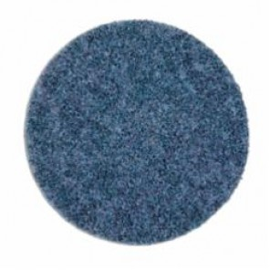 Scotch-Brite™ GB-DN Light Grinding and Blending Disc, 5 in Dia, No Hole, Ceramic Abrasive, Blue