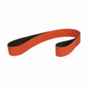 Cubitron™ II 984F Narrow Abrasive Belt, 2 in W x 72 in L, 80+ Grit, Medium Grade, Ceramic Abrasive