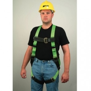 Miller™ 650T-4/UGK, Full-Body Harness w/Tongue Buckle, L/XL