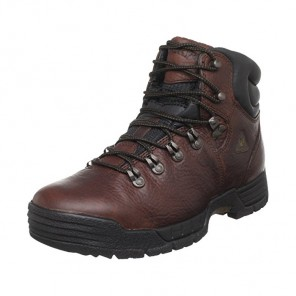 Men's Rocky Mobilite Steel-Toe Waterproof Work Boots