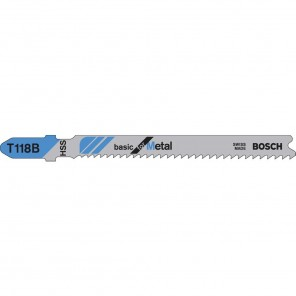 Bosch Power Tools Hss Jigsaw Blade 3 14 Tpi Staight Shank (5/CD)""