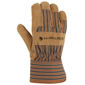 Men's Carhartt Suede Work Glove with Safety Cuff