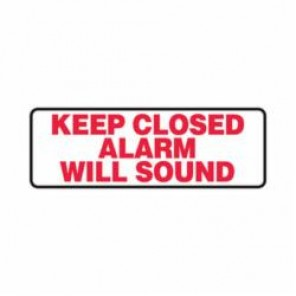 Accuform® MABR504VA Safety Sign, 4 in H x 12 in W, 0.04 in Aluminum