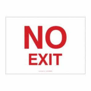 Accuform® MADC522VA Safety Sign, 7 in H x 10 in W, 0.04 in Aluminum