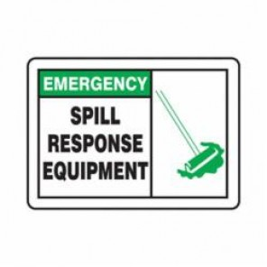 Accuform® MCHL905VA Safety Sign, 10 in H x 14 in W, 0.04 in Aluminum