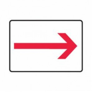Accuform® MEXT556VA Safety Sign, 7 in H x 10 in W, 0.04 in Aluminum
