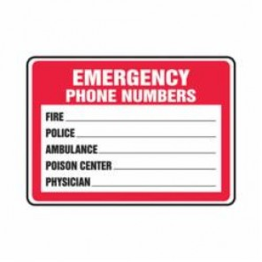 Accuform® MFSD400VA Safety Sign, 10 in H x 14 in W, 0.04 in Aluminum