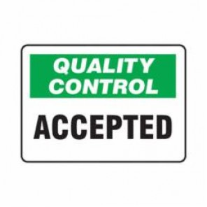 Accuform® MQTL701VA Safety Sign, 7 in H x 10 in W, 0.04 in Aluminum