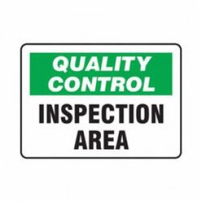 Accuform® MQTL705VS Safety Sign, 7 in H x 10 in W, 4 mil Adhesive Vinyl