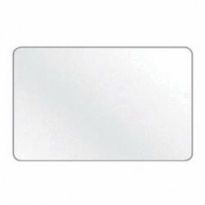 Accuform® MRBB401VP Security Sign, 10 in H x 7 in W, White, Plastic