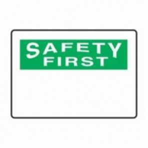 Accuform® MRBH965VS Safety Sign, 7 in H x 10 in W, 4 mil Vinyl