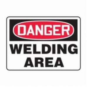 Accuform® MWLD009VS Danger Sign, 7 in H x 10 in W, 4 mil Vinyl