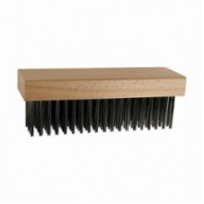 PFERD 85083 Standard Block Brush, 7-1/4 in Brush, 2-1/4 in W Block, 1-3/4 in Stainless Steel Trim