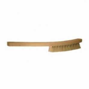 PFERD 89540 Non Wire Filament Platers Brush, 5-1/2 in Brush, 13 in L x 1-1/4 in W Block, 13 in OAL, 1 in Tampico Trim 12/Box