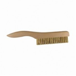 PFERD 89548 Non Wire Filament Platers Brush, 5 in Brush, 10 in L x 1-1/16 in W Block, 10 in OAL, 1 in Tampico Trim 12/Box