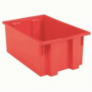 Nest & Stack Tote 35190 - Red 9 gallon capacity