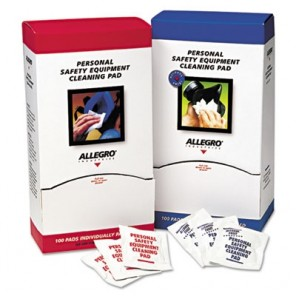 Allegro® 1001 Respirator Cleaning Towelettes, Isopropyl Alcohol Solution, 100 per Box