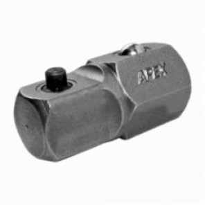 Apex® A-316 Socket and Ratchet Wrench Adapter, Imperial, Hex x Square Drive, 1/2 x 3/8 in Male Drive, Male x Male Adapter, Specifications Met: ASME B107.113, High Carbon Alloy Steel