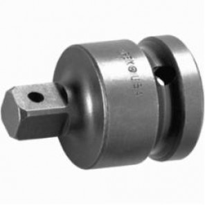 Apex® EX-510-6 Drive Adapter With Pin Lock, Imperial, Square Drive, 1/2 in Male Drive, 3/4 in Female Drive, Female x Male Adapter, Specifications Met: ASME B107.113, High Carbon Alloy Steel
