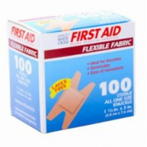 ELASTIC KNUCKLE BANDAGES 100/BOX