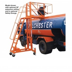 TANK-TOP LIFTS, Deck Height: Adjustable 9' to 13', 9' to 13' adjustable deck height