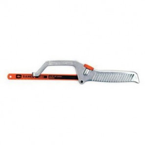 Bahco® 208 Mini Hacksaw, 10 in L, Bi-Metal Blade