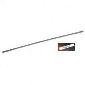 Bahco® 303-5P Coping Saw Blade, 6 in L Blade, Carbon Steel Cutting Edge, Carbon Steel Blade, 14 TPI