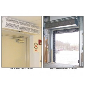 BERNER AIR CURTAINS, Series: Industrial Air - 208/1 Voltage, Max Door Size W x H: 7' x 12', Motor HP: 42737, No. of Motors: 2, Total Motor Amps: 7, Max. CFM@ Nozzle: 10085, Unit Size W x D x H: 87 x 18 x 15""