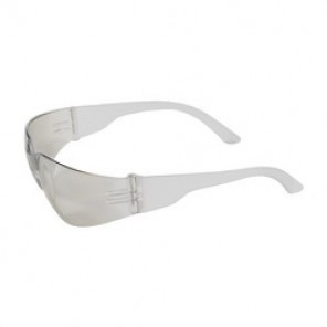 Bouton® 250-01-0902 Light Weight Protective Glasses, Universal, Rimless Clear Frame, Anti-Scratch Indoor/Outdoor Lens