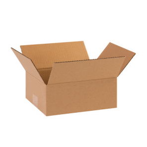 "8 x 6 x 3""  Flat Corrugated Boxes, 25/Bundle"