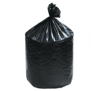 "55 Gal Low Density Black Can Liners, 1.5 mil, 36 x 58"", 100/Case"