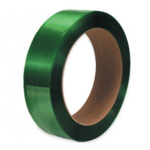 "PS5835G 5/8"" X 4200' - 16 x 6"" Core Green Polyester Strapping - Smooth"