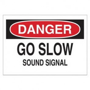 Brady® 43384 Traffic Sign, 10 in H x 14 in W, Black/Red on White, Surface Mount, B-555 Aluminum