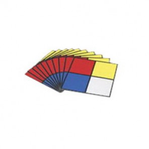Brady® 58273 NFPA Placard, 7-1/2 in H x 7-1/2 in W, Black/Red/Blue/Yellow on White