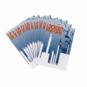 Brady® 65555 Lockout Booklet, English