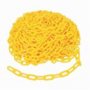 Brady® 78238 Warning Chain, 2 in, 100 ft L, Yellow, Polyethylene