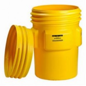 Brady® 89142 Empty Spill Containment, 95 gal Drum, Yellow