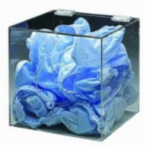 Brady® Prinzing® DPE Stack PPE Dispenser, 20000 Ear Plugs, Wall/Table Top Mount, Clear, Acrylic Glass
